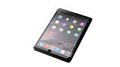 ZAGG InvisibleShield - Tempered Glass Screen Protector Made for Apple iPad Mini 4 and iPad Mini 5 - Clear (Ipad 2 Screen Protector Zagg)