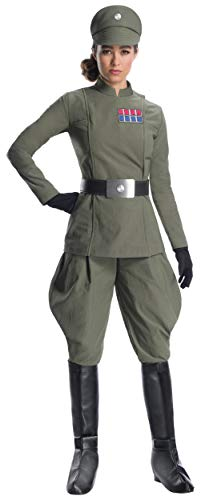 Charades Star Wars Imperial Officer Women's Costume, As Shown, X-Large