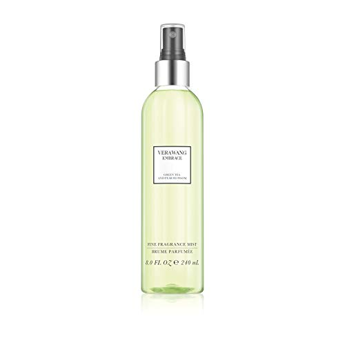 Vera Wang Embrace Body Mist Spray for Women, Green Tea & Pear Blossom, 8 Fluid oz (Hair Perfume Body)