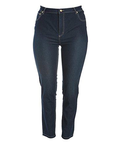 Sass & Sassy Women's Plus Size Super Soft Stretch Skinny Jeans