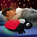 Red Discovery Kids Firefly Night-Light baby gift idea For Sale