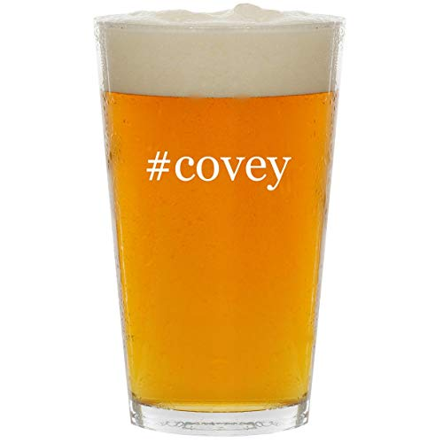 #covey - Glass Hashtag 16oz Beer Pint ()