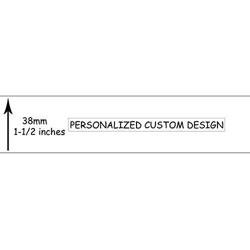 Midi Ribbon Personalized Custom Single Face Printed Grosgrain Ribbon 1.5