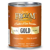 Fromm Four-Star Nutritionals Gold Chicken Pate Canned Dog Food