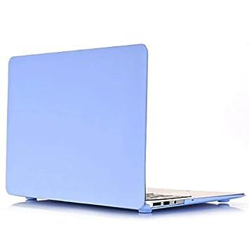 Funda MacBook Pro 15 touch bar 2017 - AQYLQ [Candy Color] Carcasa MacBook Pro 15 Pulgadas 2017 & 2016 Touch Bar A1707 Ultra Delgado Plástico - Azul ...
