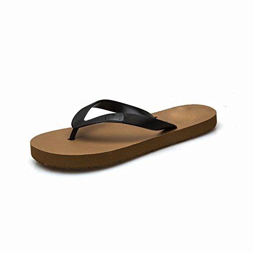 Ocasionales los de los Hombres de Verano de Sandalias Simples Sandalias Zapatos Antideslizantes de Playa AN B Hombres Planas Planas Bqt7wfxE