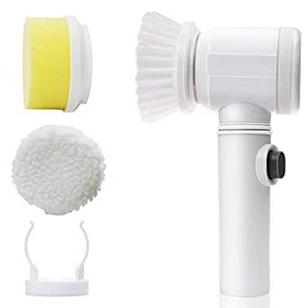 Electric Multi-Functional Household Tools Bath Kitchen Cleaning Brush Window Cleaner