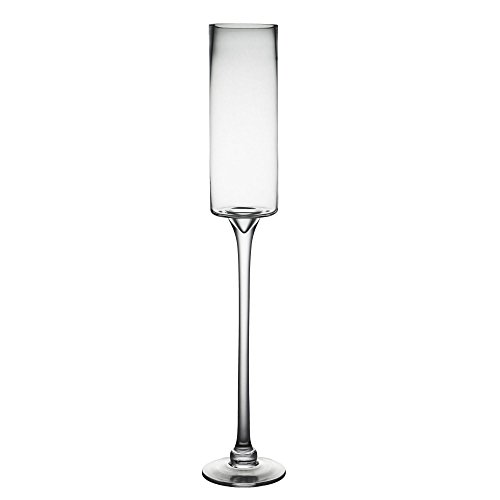 CYS EXCEL Long Stem Candle Holder, Open D:3.5