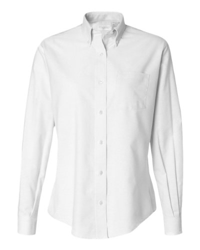 Van Heusen Ladies' Oxford Shirt 13V0002 - White - Small