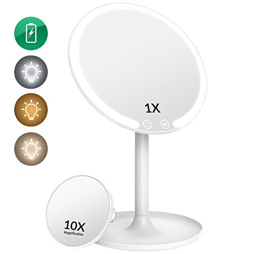EASEHOLD Lighted Makeup Mirror