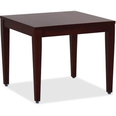 Lorell 59543 Accession Corner Table, Birch,Mahogany