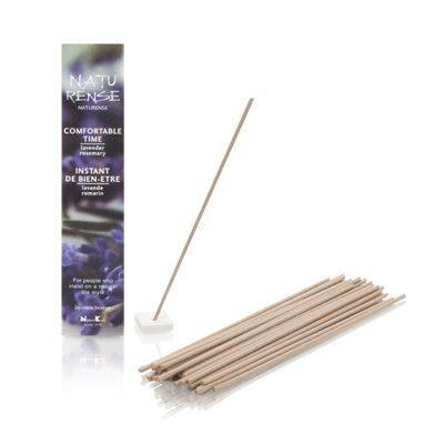 Naturense Comfortable Time 40 Insence Sticks with Holder Lavender / Rosemary