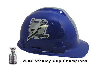 WinCraft NHL 2411311 Tampa Bay Lightning Packaged Hard Hat 1