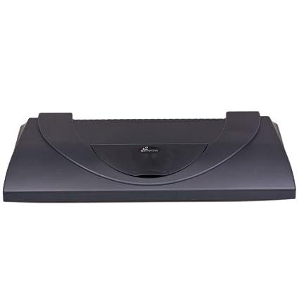 Acuario protectora 80 x 35 cm, 2 x 18 W, color negro, incluye