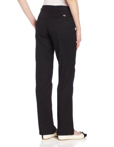 10 Pant Flat Mujeres Dickies Frente Black Fp221 wPX4Wqv
