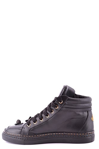 Donna DSQUARED2 Pelle MCBI107107O Top Nero Sneakers Hi qttT4