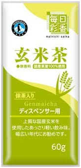 毎日彩香 玄米茶 60g×20袋