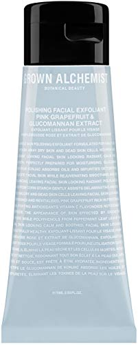 Grown Alchemist Polishing Facial Exfoliant - Pink Grapefruit & Glucomannan Extract (75ml / 2.53oz)