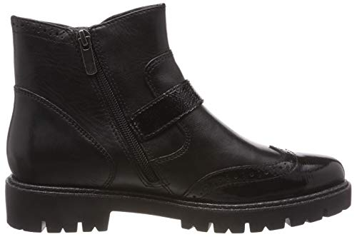 Ankle 21 Women's Be Boots Black 25407 Natural Black 001 vqgxwFAIn