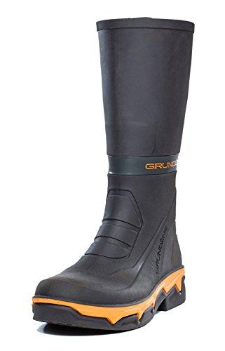 Grundens 15db Deck Boss Stivali Impermeabili, Nero / Arancione