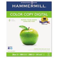 ** Color Copy Paper, 100 Brightness, 28lb, 8-1/2 x 11, Photo White, 500/Ream