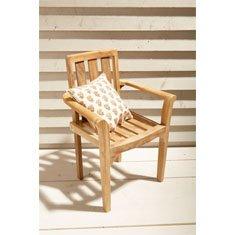 Gartenstühle holz stapelbar  Amazon.de: Stapelstuhl, Teakstuhl, Gartenmöbel, Holz, stapelbar