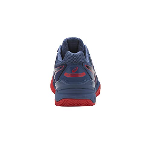 Blue Hombre Gel Print Blue Azul Print 400 7 Clay para Asics de Resolution Zapatillas Tenis 7wBTHUq