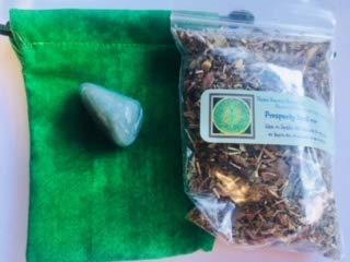 - Mojo bag kit: Prosperity ~22 gram bag Prosperity mix ~ 3 X 4 Empty Handmade Green Bag ~ 1 Green Aventurine Stone Wicca ~ Make your own Mojo bag ~ Ravenz Roost Herbs