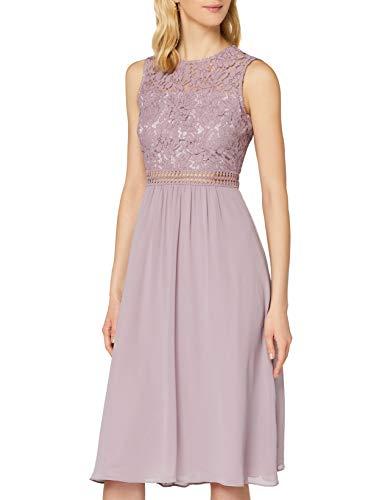 Truth & Fable Dames Midi Chiffon A-lijn jurk