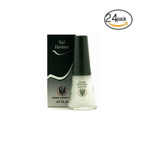 Quimica Alemana Nail Hardener 0.47oz (Pack of 24) w/Free Nail File