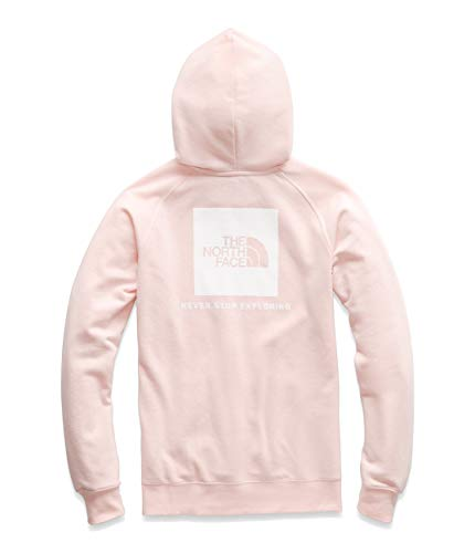- The North Face Women's Red Box Pullover Hoodie Pink Salt/TNF White Medium