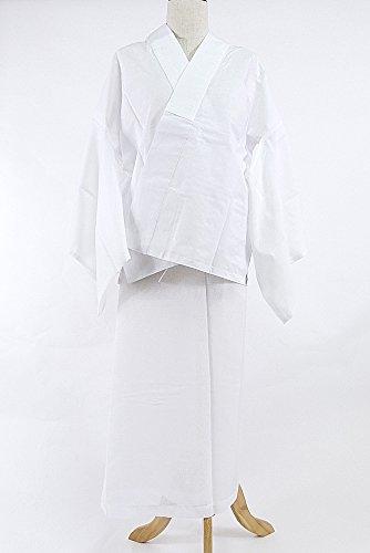 話をする黙アサート二部式長襦袢 白 M Lサイズ 絽 単衣用 裾よけ 検針済