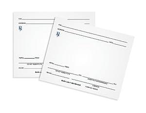 Amazon.com : Prescription Pads (100 Sheets per Pad) [Pack of 10 ...