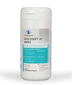 Dr. Schumacher descosept AF - Wipes Toallitas desinfectantes: Amazon.es: Salud y cuidado personal