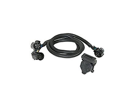 amazon com hopkins mfg 41157 rv trailer camper trailer wiring 7 way Golf Cart Wiring Harness amazon com hopkins mfg 41157 rv trailer camper trailer wiring 7 way fifth wheel wiring harness automotive