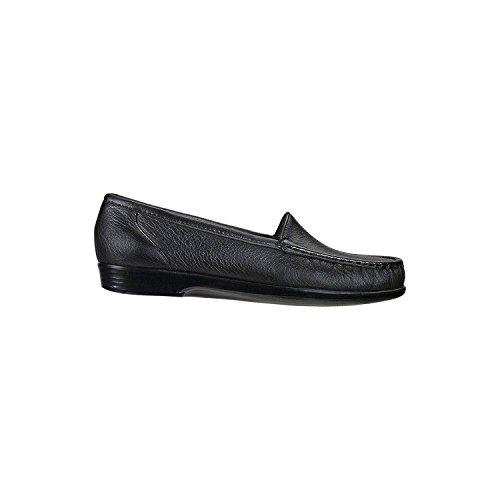 SAS Women's, Simple Slip on Loafer Black 9.5 M