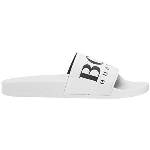 - Hugo Boss Solar Slides Slippers White 50388496 White 8(42)