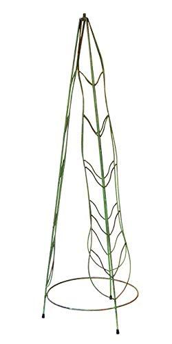 Iron Wrought Sundial - Rome Leaves Sundial Pedestal Base - Wrought Iron with Verdi Finish