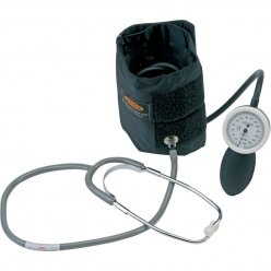 Accoson 6 inch Tensiómetro aneroide combinar modelo Cuff con estetoscopio (0400)