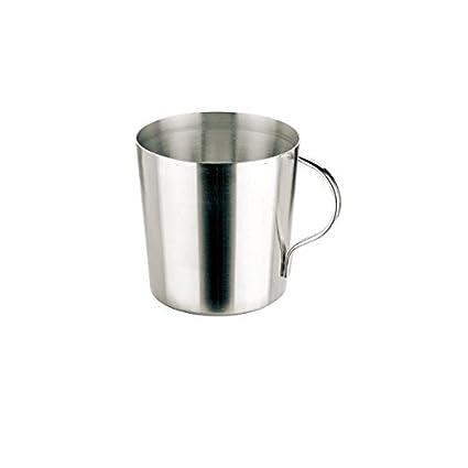 Inoxibar- Vaso de acero inoxidable 0,33l. con asa: Amazon.es ...
