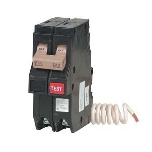 (Eaton - CH220GF - 20-Amp 1-1/2 in. Double-Pole GFCI Circuit Breaker)