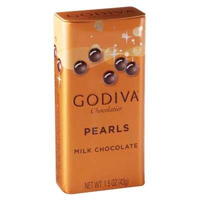 Godiva, Pearls Milk bocadillos perlas chocolate con leche, 43g: Amazon.es: Alimentación y bebidas
