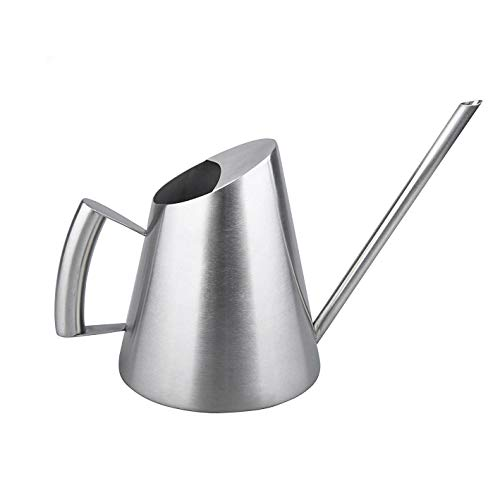 IMEEA Watering Can Pot Stainless Steel SUS304 Small Size, 32Oz / 900ml