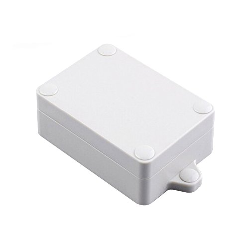 Waterproof Junction Box IP68 Abs Plastic Outdoor Project Case with Screws and Weatherproof Rubber Strip 111x62x33mm by SZOMK