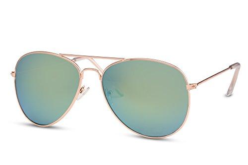 Mujeres UV Aviador Piloto Diseñador 400 Hombres Gafas Espejadas Amarillo de Sol Metálicas 012 Gafas Cheapass Ca fwxaPC0qn