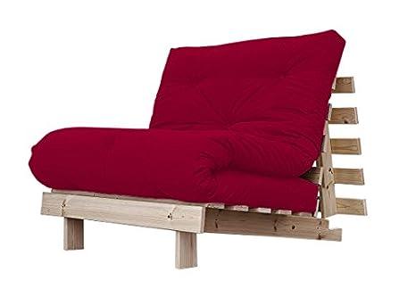 Poltrona Letto Futon : Viverezen poltrona letto futon roots zen struttura naturale