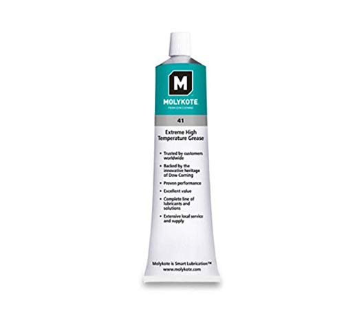 Temperature Grease Bearing - MOLYKOTE 41 Extreme High Temperature Bearing Grease 5.3OZ