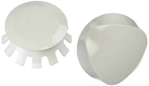Geberit 151.550.DY.1 Traditional Plastic TurnControl Trim Kit, Off White