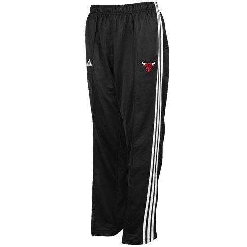 NBA adidas Chicago Bulls Youth 3-Stripe Track Pants - Black ()