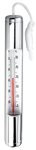 Ocean Blue Water Products Chrome Plated Thermometer